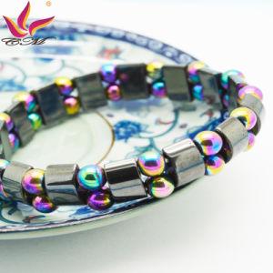 Htb-114 Hematite Saint Rosary Magnetic Bracelet pictures & photos