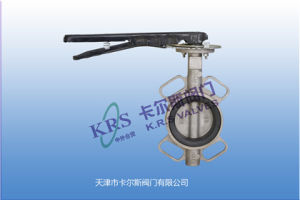 Wafer Type Butterfly Valve Control Valve Gas Valve (D71X-10) pictures & photos