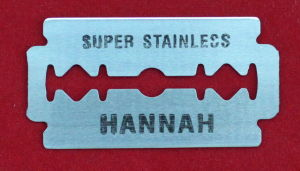 Carbon Steel Double Edge Safety Razor Blades
