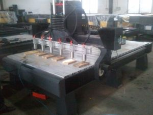 More Head Spindle CNC Woodworking Carving Machinery pictures & photos