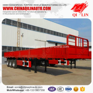 Good Quality Carbon Steel High Breast Board Semi Trailer for Sale pictures & photos
