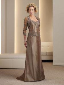 2011 New Fashion Custom Made 1 Piece Formal Mother of Bridal Dress (MC111955)