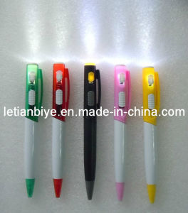 Plastic Ball Point Pen with LED Light (LT-A051) pictures & photos