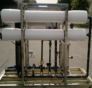 2t/H RO Water System with 2 PCS 8040 RO Membranes pictures & photos