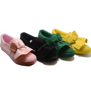 Colorful Novelty Hotsale Vulcanization Injection Rubber Women Shoes pictures & photos