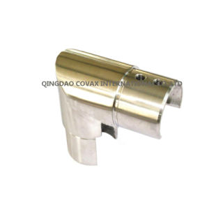 Stainless Steel Vertical Connector for Slot Tube Stair Railing Staircase pictures & photos