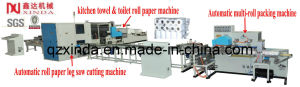 Automatic Toilet Roll Paper Machine Production Line pictures & photos