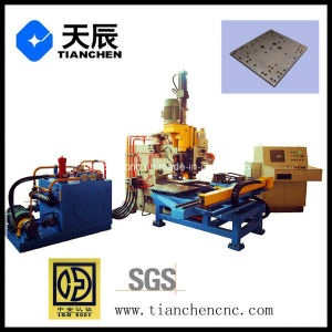 CNC Hydraulic Plate Punching, Marking and Drilling Facility Model Ppd103 pictures & photos