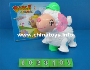 Battery Operated Sheep Toy with Music and Light (1023101) pictures & photos
