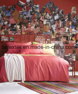 Polyester Bedsheet Fabric/Printing Bedsheet Fabric/Bedding Sets Home Textile pictures & photos