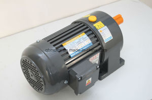 Gh Horizontal Light Duty Aluminum / Steel Housing 3-Phase (Brake) AC Geared Motor pictures & photos
