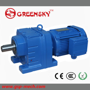 R107 R137 R147 R167 R177 Miter Speed Reducer Gear Motor Gearbox Reductor pictures & photos