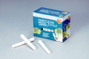 50PCS White Dustless Chalk pictures & photos
