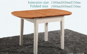 Mediterranean Extendable Solidwood Dining Furniture Table and Chairs pictures & photos