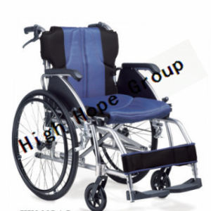 High Hope Medical - Aluminium Alloy Manual Wheelchair-Ky869laj pictures & photos