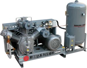 High Pressure Air Compressor with 150L Tank pictures & photos