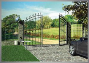 DC Swing Gate Opener 1021.103, One Motor for Left and Right Gate pictures & photos