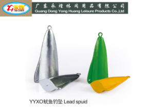 High Quality Fishing Lead Weight Lead Squid pictures & photos