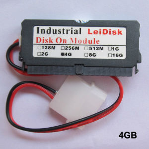 4GB 40pin Dom with Cable Leidisk Industrial 4G IDE Disk on Module pictures & photos