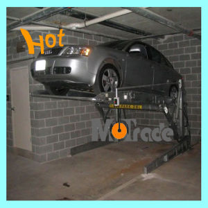 Simple Tilting Parking/Two Post Car Lift (for sedan use) pictures & photos