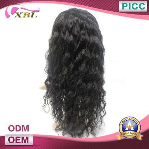 Virgin Deep Wave Indian Human Hair Wigs pictures & photos