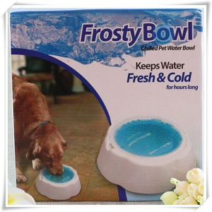 TV Items Pet Water Bowl with Chilled (VD15005)