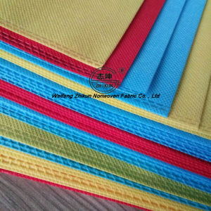 Dyed PP Spunbond Nonwoven Fabric for Handbags pictures & photos