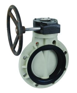 Pph Worm-Gear Butterfly Valve /Pph Butterfly Valve (D371X-6S) pictures & photos