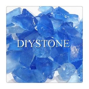 Sea Blue Colored Glass Block for Landscaping pictures & photos