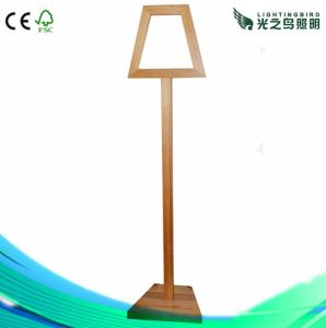 Modern Wooden Floor Lamp for Hotel, Factory Price (LBMD-TC)