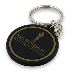 Customized PVC Rubber Material Colorful Logo Keychain pictures & photos