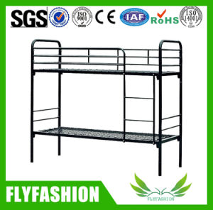 Good Quality Folding Metal Double Bunk Bed for Dormitory Used (BD-37) pictures & photos