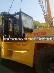 25ton Used Tcm Forklift Fd250, Secondhand Diesel Manual Forklift pictures & photos
