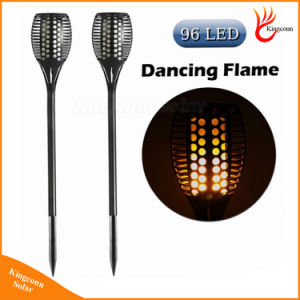 96 LED Solar Flame Light Solar Torch Light pictures & photos