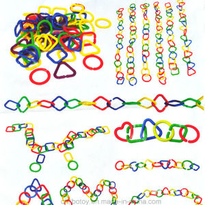 Plastic Geometric Chain Link Education Learning Toy pictures & photos