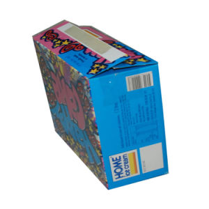 Lovely Cake Paper Box with Handle pictures & photos