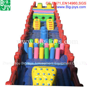 Durable Funny Commercial Inflatable Obstacle Course Adult (DJOB005) pictures & photos