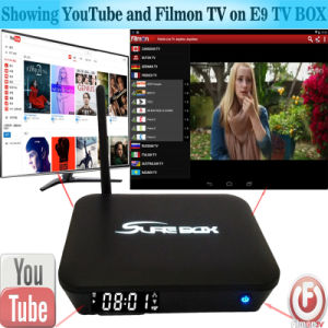China IPTV Amlogic S912 3+16GB Android TV Box pictures & photos