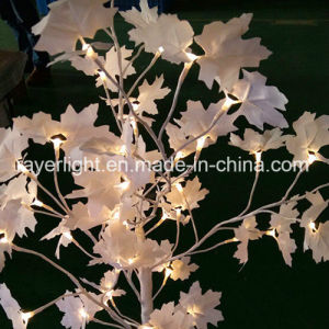 Maple Design LED Christmas Table Decorationsled Maple Tree Light pictures & photos