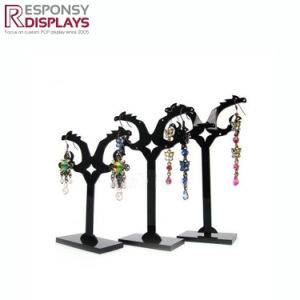 Factory Price Black Acrylic Hanging Eardrop Display pictures & photos