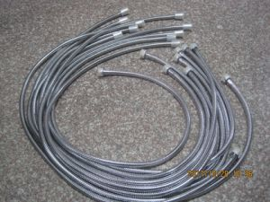 Stainless Steel Flexbile Shower Hose, EPDM, Brass Nut, Chromed Finish, Shrank Package pictures & photos