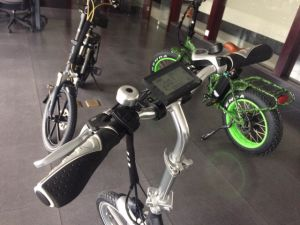 """20"""" 250W Samsung Battery Low Step Folding Ebike pictures & photos"""