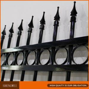 Ornamental Tubular Garden Iron Fencing pictures & photos