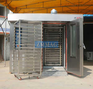 64 Trays Gas Two in One Rotary Oven (ZMZ-64M) pictures & photos