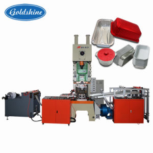 Aluminum Foil Take Away Food Container Making Machine pictures & photos