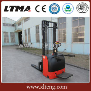 Hot Sale Mini Pallet Jack 1.5 Ton Electric Stacker Price pictures & photos