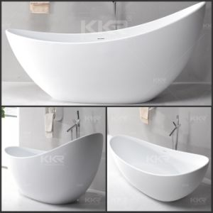 Sanitary Ware Modern Bathroom Furniture Solid Surface Bathtub pictures & photos