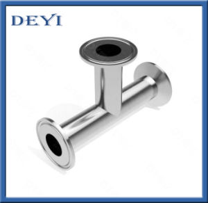 Stainless Steel Sanitary Pipe Fitting Hygienic 3A Tri Clamp Tee pictures & photos