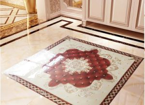 Beautiful Golden Glazed Puzzle Tile with 1600X1600mm (BDJ60369) pictures & photos