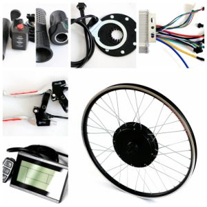 Agile 500W Gearless Electric Bicycle Bike Kit with LCD Display pictures & photos